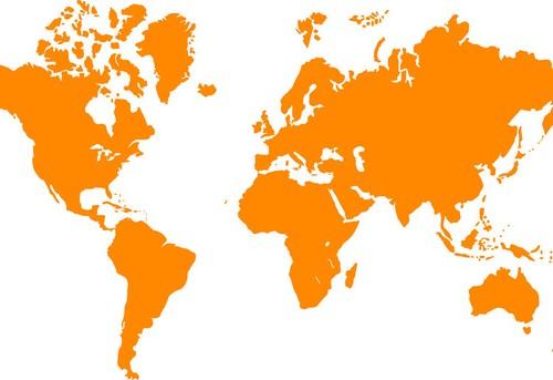 Orbitec Internacional is present in al 5 continents